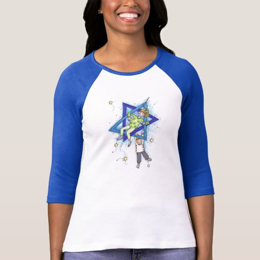 Camp shirts - Star of David design T Shirts