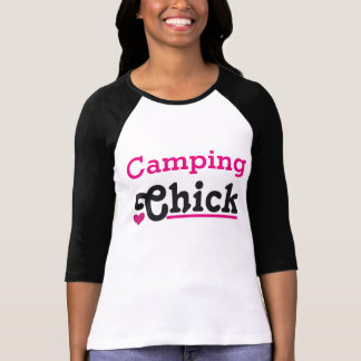 Camp-site Chick T-Shirt
