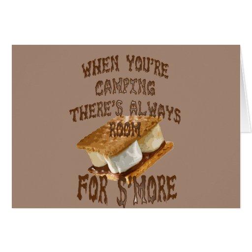 Camp Smores Greeting Cards