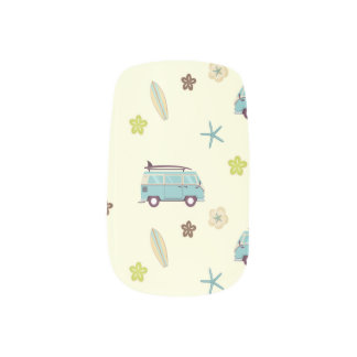 Camp Surf Nail Wraps