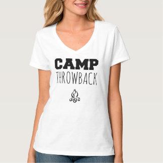 Camp Throwback Women's V-Neck T-shirt