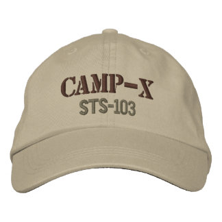 Camp-X Embroidered Cap (Khaki) Embroidered Hats