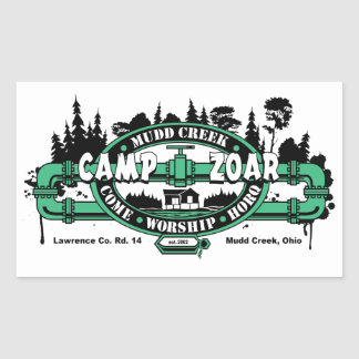 Camp Zoar Stickers