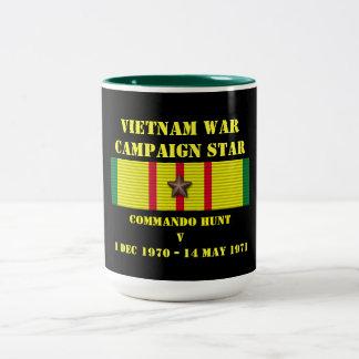 Campagne de la chasse V à commando Mug À Café