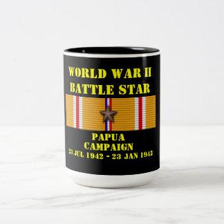 Campagne de la Papouasie Mug Bicolore