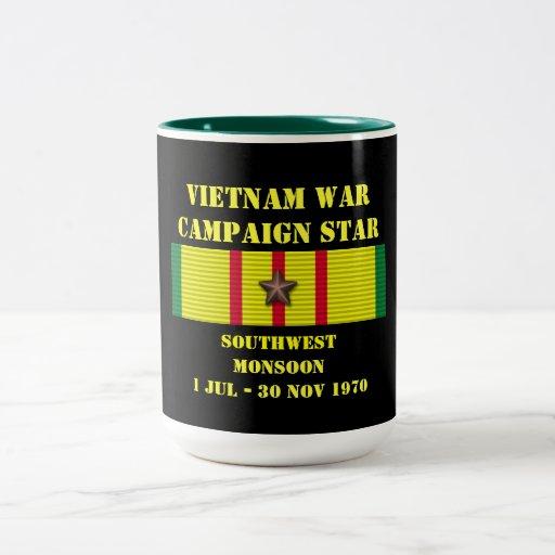 Campagne de mousson de sud-ouest mug à café
