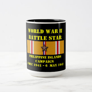 Campagne d'îles philippines mug bicolore