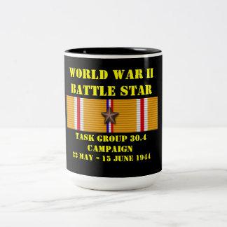 Campagne du groupe de travail 30,4 mug bicolore