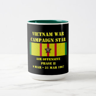 Campagne offensive de la phase II d'air Mug Bicolore