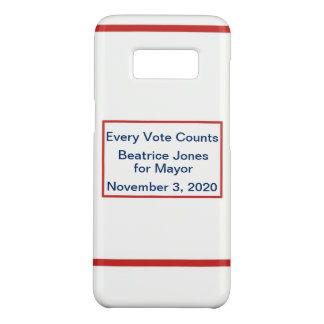Campaign Election Night Candidate Motto Template Case-Mate Samsung Galaxy S8 Case