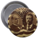 Campaign for McKinley/Roosevelt Button
