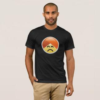 Campaign Guru Frowning Turban Emoji T-Shirt