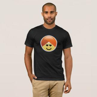 Campaign Guru Heart Eyes Turban Emoji T-Shirt