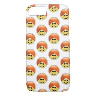 Campaign Guru Love Turban Emoji iPhone 8/7 Case
