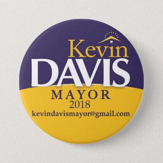 Campaign Mayor Button Election Politics