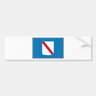 Campania (Italy) Flag Bumper Sticker