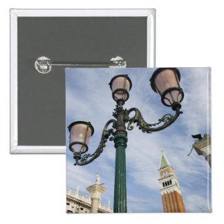 Campanile in the Piazza San Marco Venice Italy 2 Inch Square Button