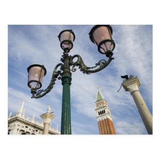 Campanile in the Piazza San Marco Venice Italy Postcard