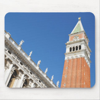 Campanile tower in Venice, Italy Mouse Pad