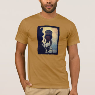 Campbell CA Water Tower Men's T-Shirt