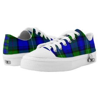 Campbell Clan Blue Tartan  Shoes