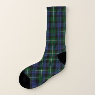 Campbell Clan Plaid Socks 1