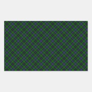 Campbell Clan Tartan Designed Print