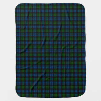 Campbell Clan Tartan Plaid Pattern Swaddle Blanket