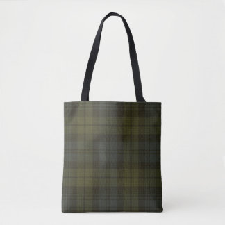 Campbell Clan Tartan Tote Bag