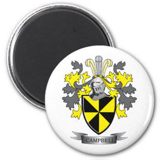 Campbell Family Crest Coat of Arms Magnet
