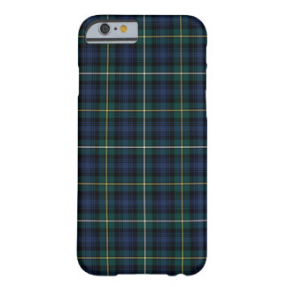 Campbell of Argyll Blue and Green Clan Tartan Barely There iPhone 6 Case