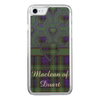 Campbell of Breadalbane Plaid Scottish tartan Carved iPhone 8/7 Case