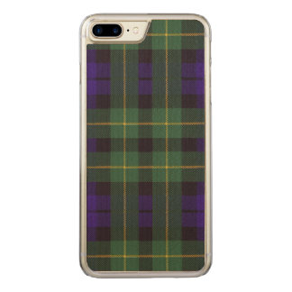 Campbell of Breadalbane Plaid Scottish tartan Carved iPhone 8 Plus/7 Plus Case