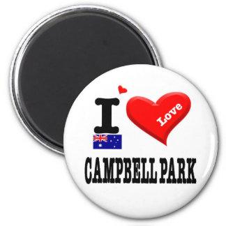 CAMPBELL PARK - I Love Magnet