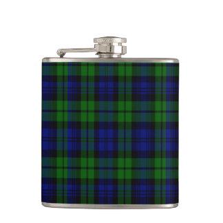 Campbell Scottish Tartan Hip Flask
