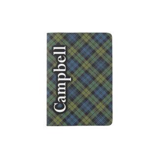 Campbell Scottish Tartan Passport Holder