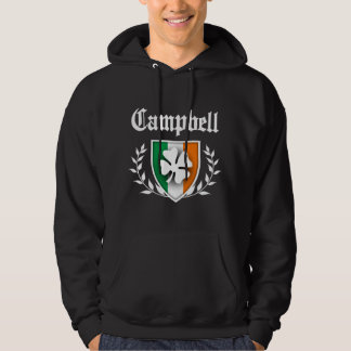 Campbell Shamrock Crest Hoodie