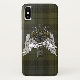 Campbell Tartan Cross iPhone X Case