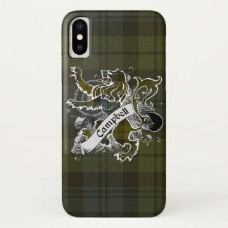 Campbell Tartan Lion iPhone X Case