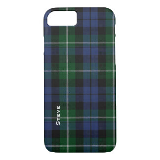 Campbell Tartan Plaid iPhone 7 Case