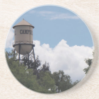 Campbell Water Tower, California Drink Coaster