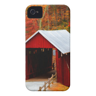campbells covered bridge iPhone 4 cover
