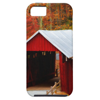 campbells covered bridge iPhone 5 cover