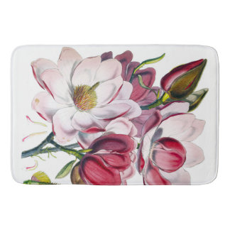 Campbell's Magnolia Bathroom Mat