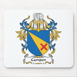Campen Family Crest Mouse Pad