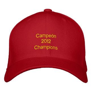 Campeón 2012 champions Espagne España 2012 2012 Casquette Brodée