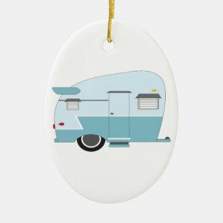 Camper Ceramic Ornament