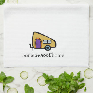 Camper Dishtowel Kitchen Towel