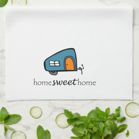 Camper Dishtowel Towel