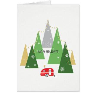Camper | Holiday Greeting Card
